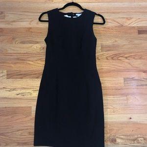 H&M Black A-Line Dress